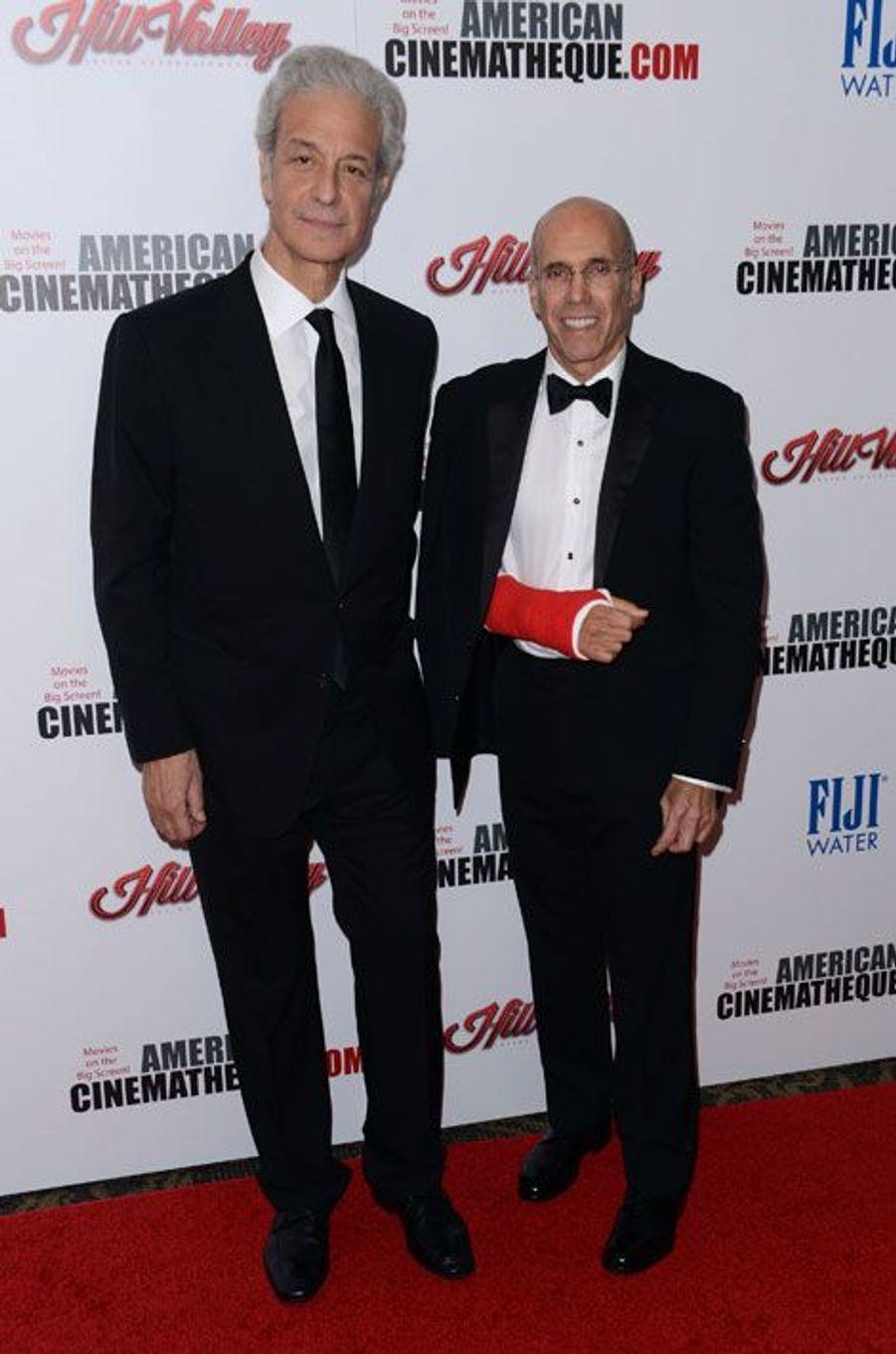 Jeffrey Katzenberg et Rick Nicita