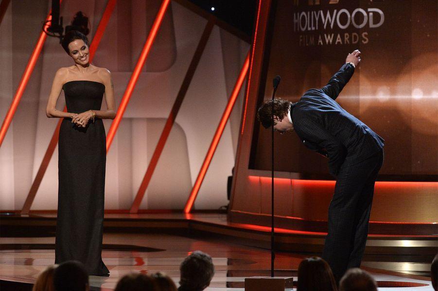 Angelina Jolie et Jack O'Connell