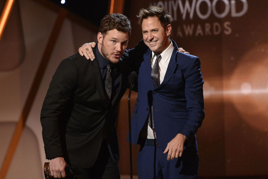 Chris Pratt et James Gunn