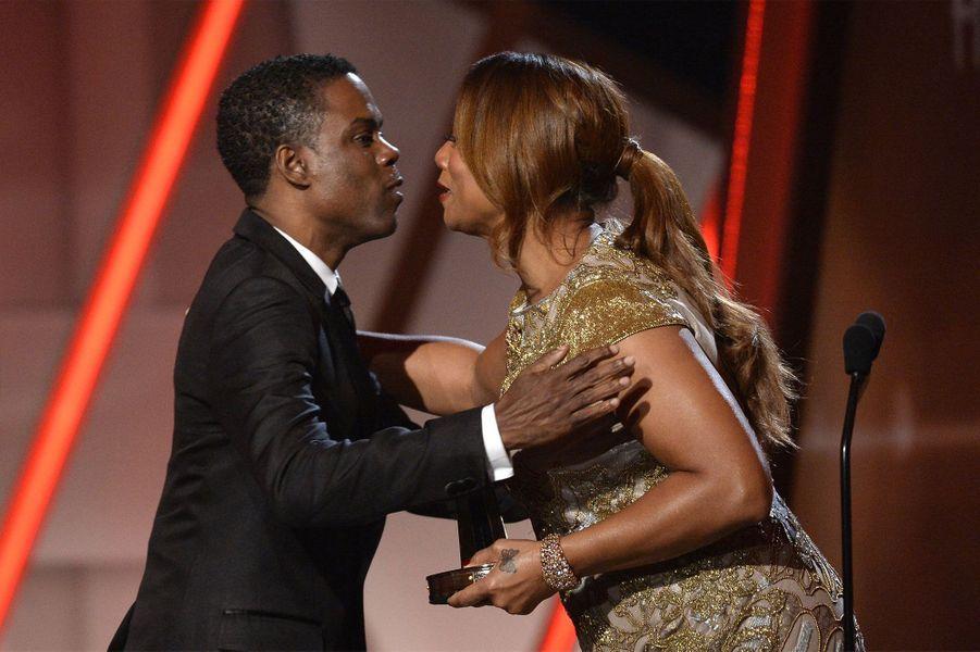 Chris Rock et Queen Latifah