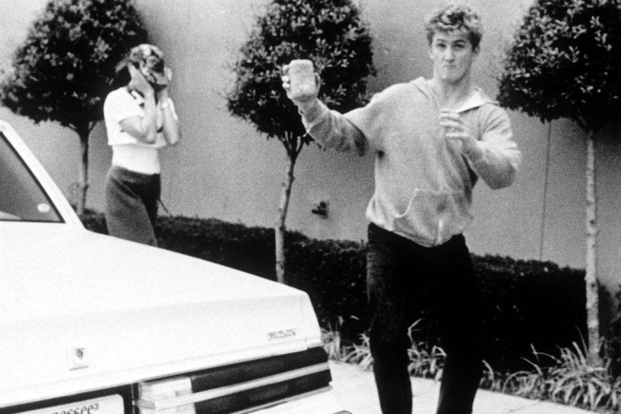Madonna et Sean Penn en 1985