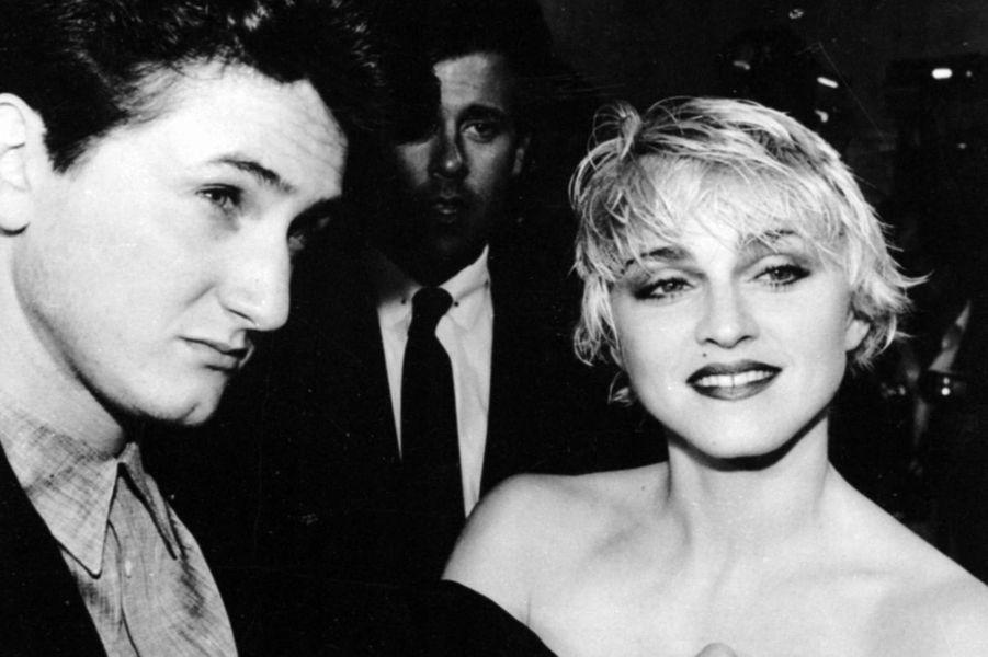 Madonna et Sean Penn en 1986