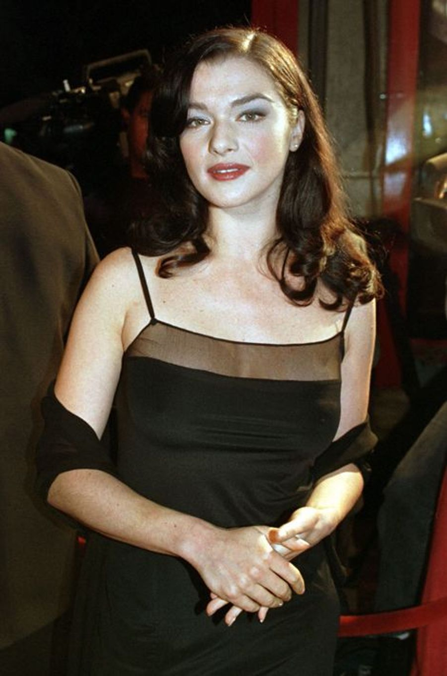 "A la première du film ""Swept from the Sea"" à Los Angeles, 1998"