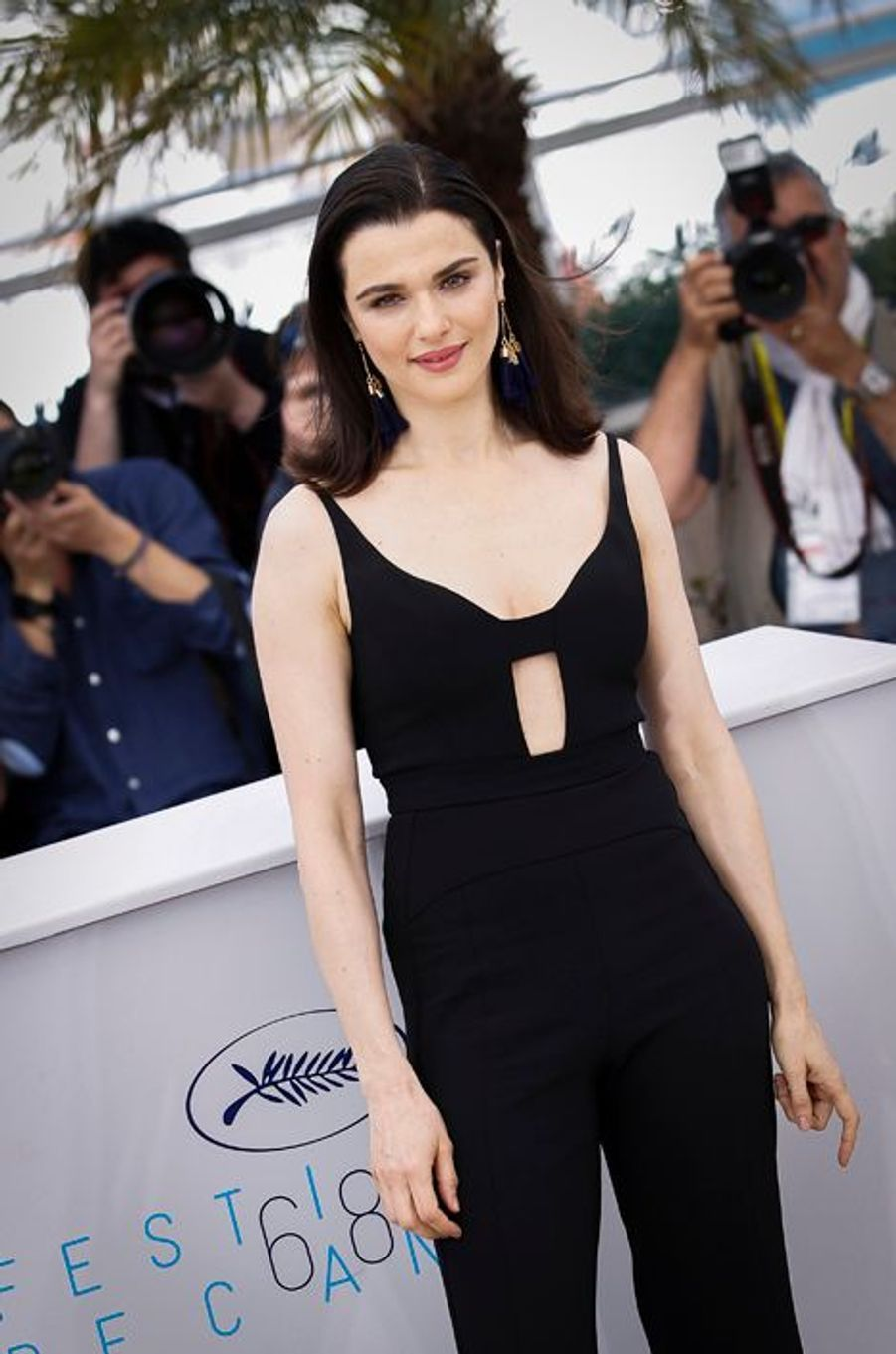 "Au photocall du film ""The Lobster"" à Cannes, le 14 mai 2015"