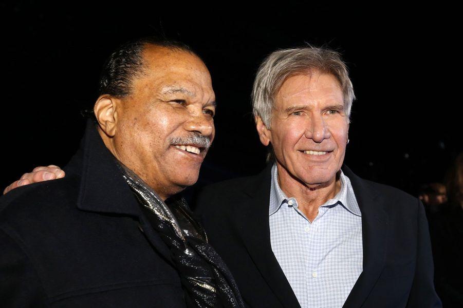 Billy Dee Williams et Harrison Ford