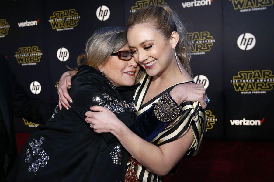 Carrie Fisher et Billie Lourd