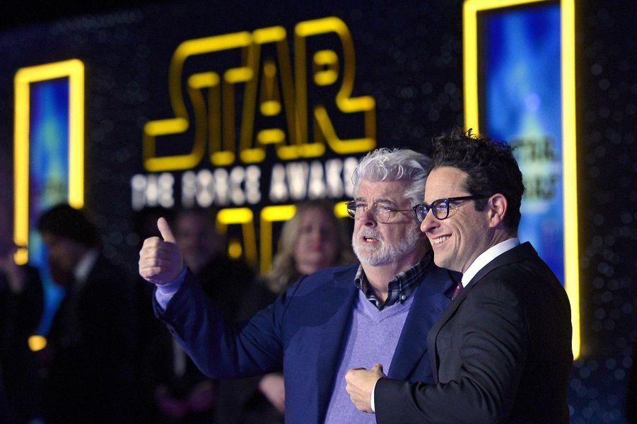 George Lucas et JJ Abrahms