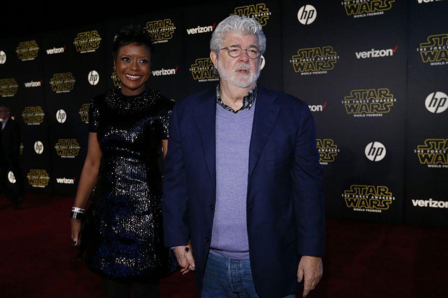 George Lucas et sa femme