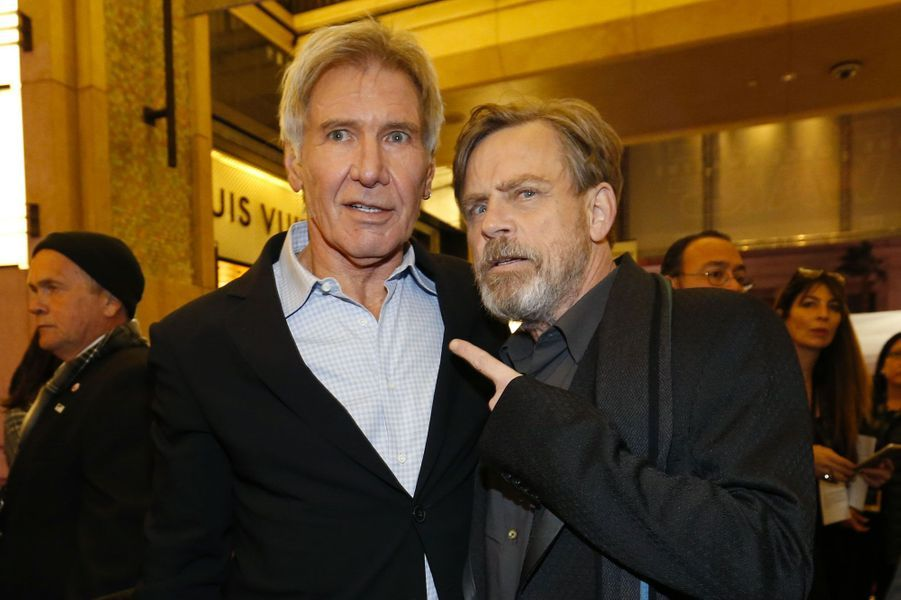 Harrison Ford et Mark Hamill