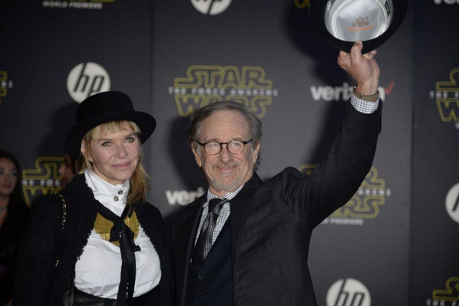 Steven Speilberg et Kate Capshaw
