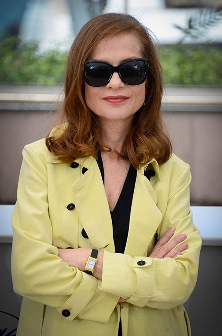 Isabelle Huppert à Cannes le 17 mai 2015