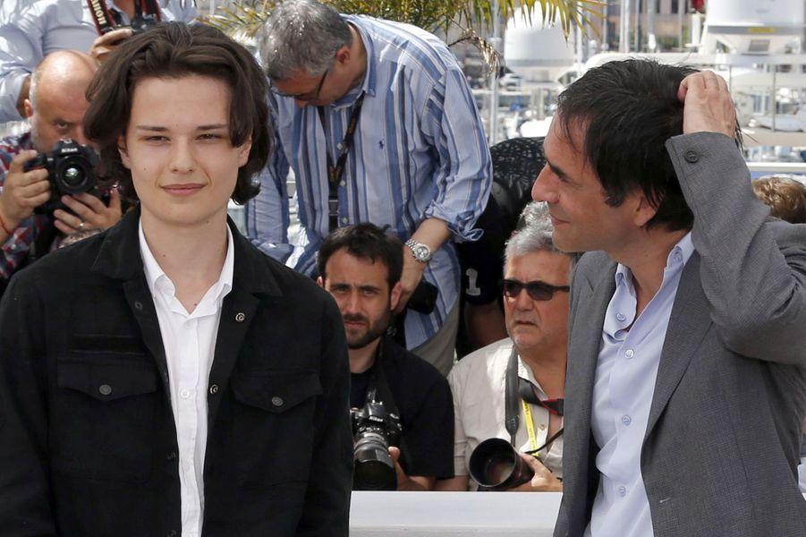 Jules et Samuel Benchetrit à Cannes le 17 mai 2015