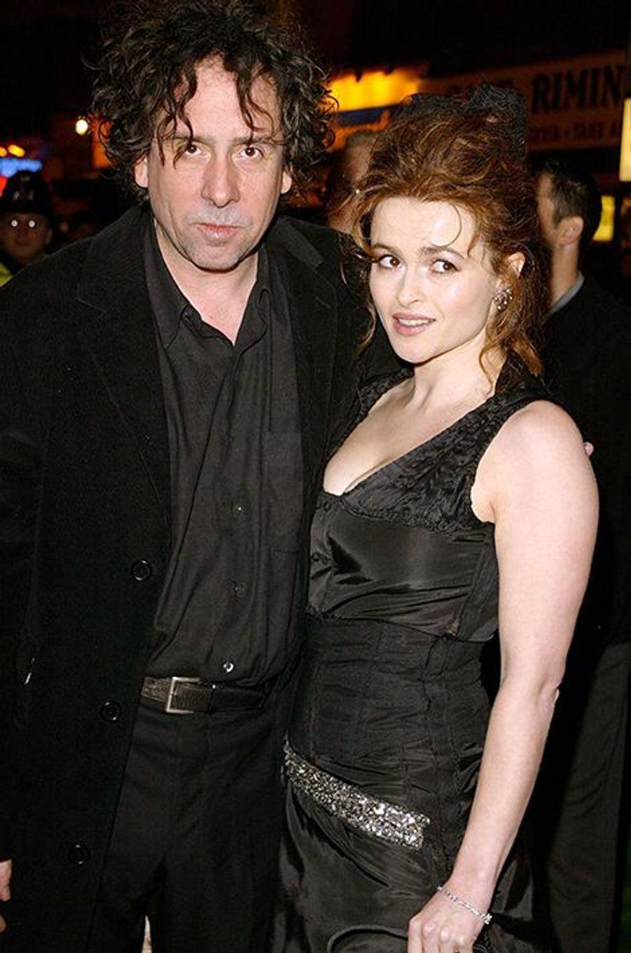 """À l'avant-première du film """"Big Fish"""", à Londres le 19 janvier 2004"""