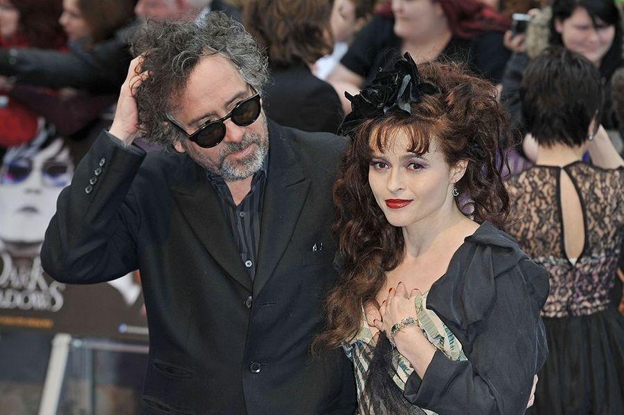 """À l'avant-première du film """"Dark Shadows"""" à Londres le 10 mai 2012"""