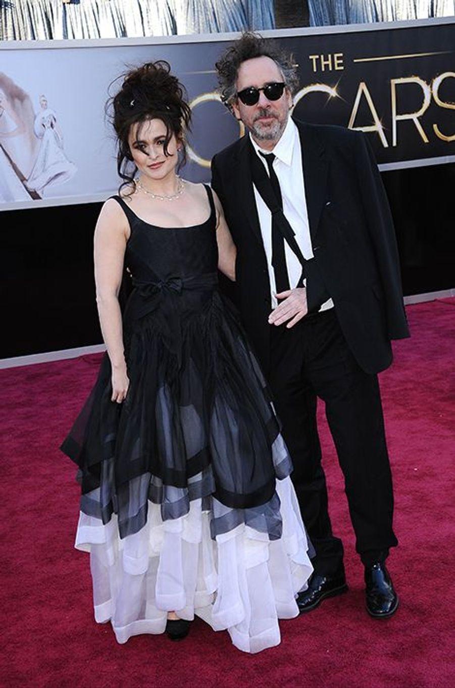 À la 85e édition des Oscars, à Los Angeles le 24 février 2013