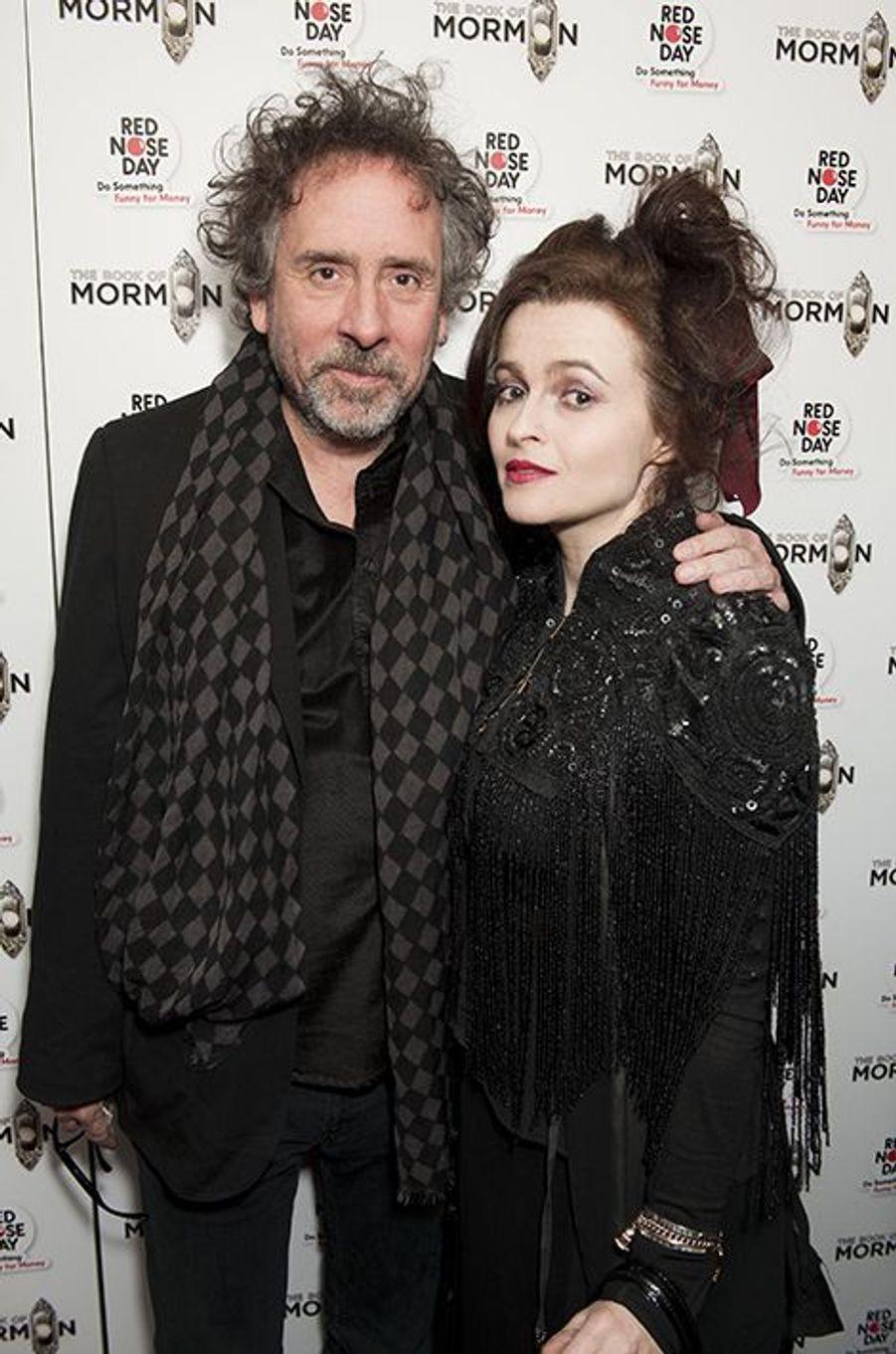 À Londres, lors d'un gala organisé le 13 mars 2013. Leur dernier tapis rouge ensemble.
