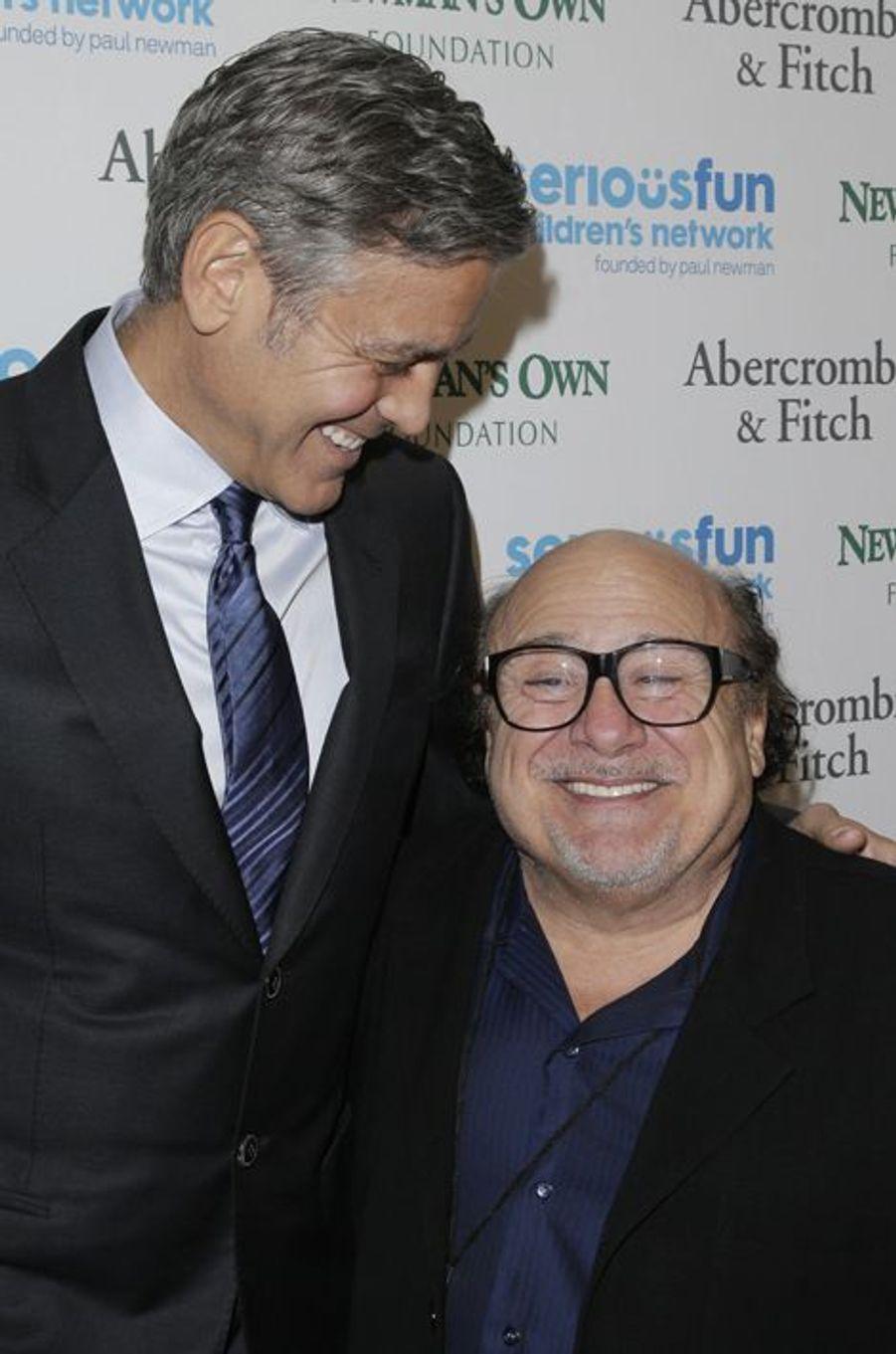 George Clooney et Danny DeVito