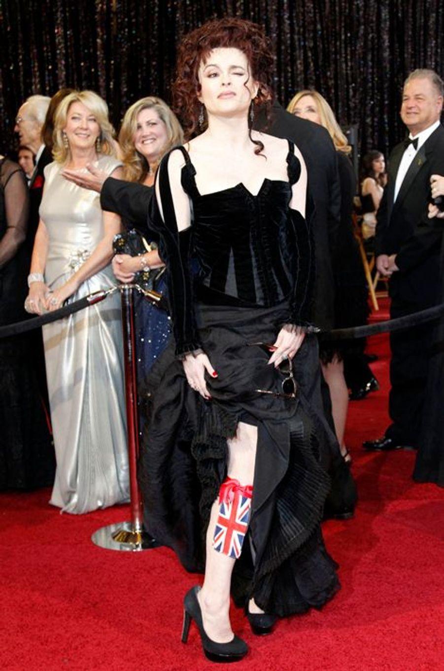 Helena Bonham Carter aux Oscars 2011
