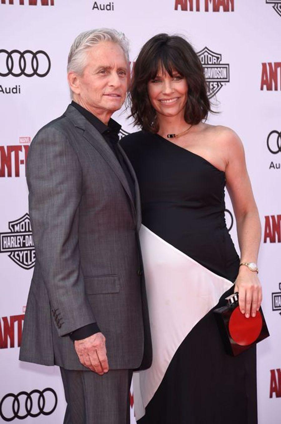 Michael Douglas et Evangeline Lilly