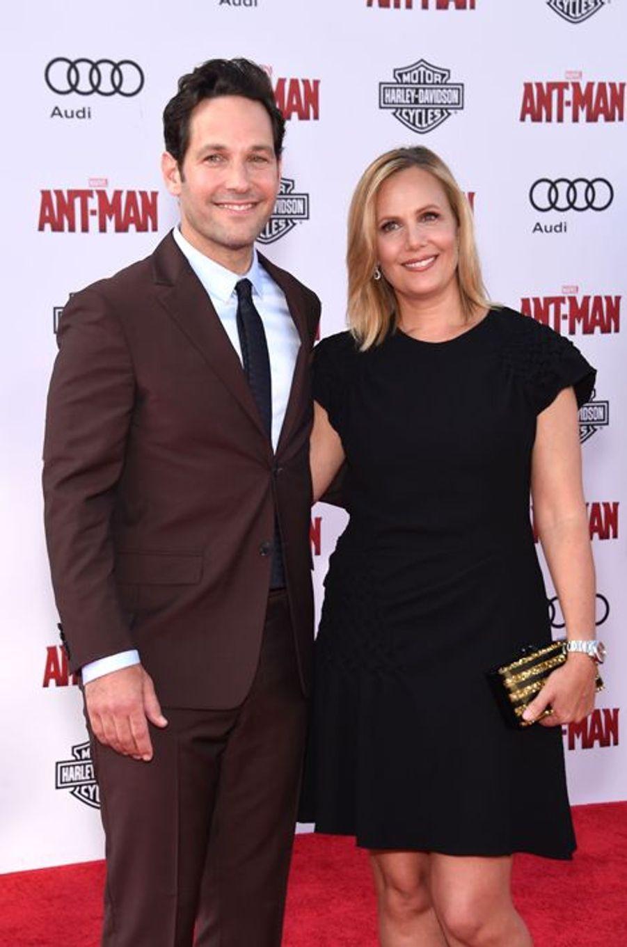 Paul Rudd et sa compagne Julie Yaeger