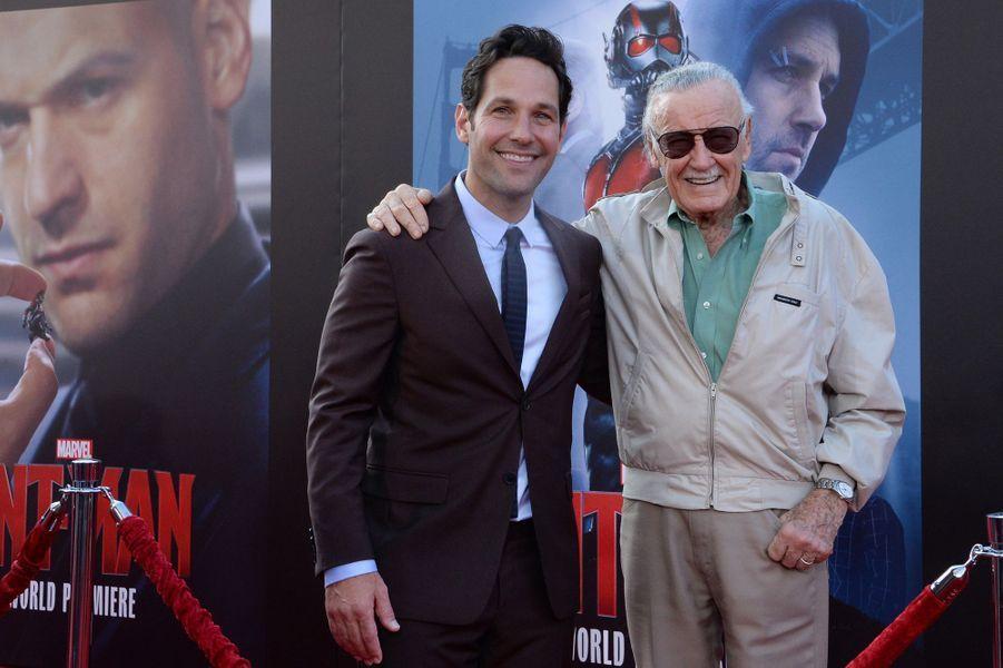 Paul Rudd et Stan Lee