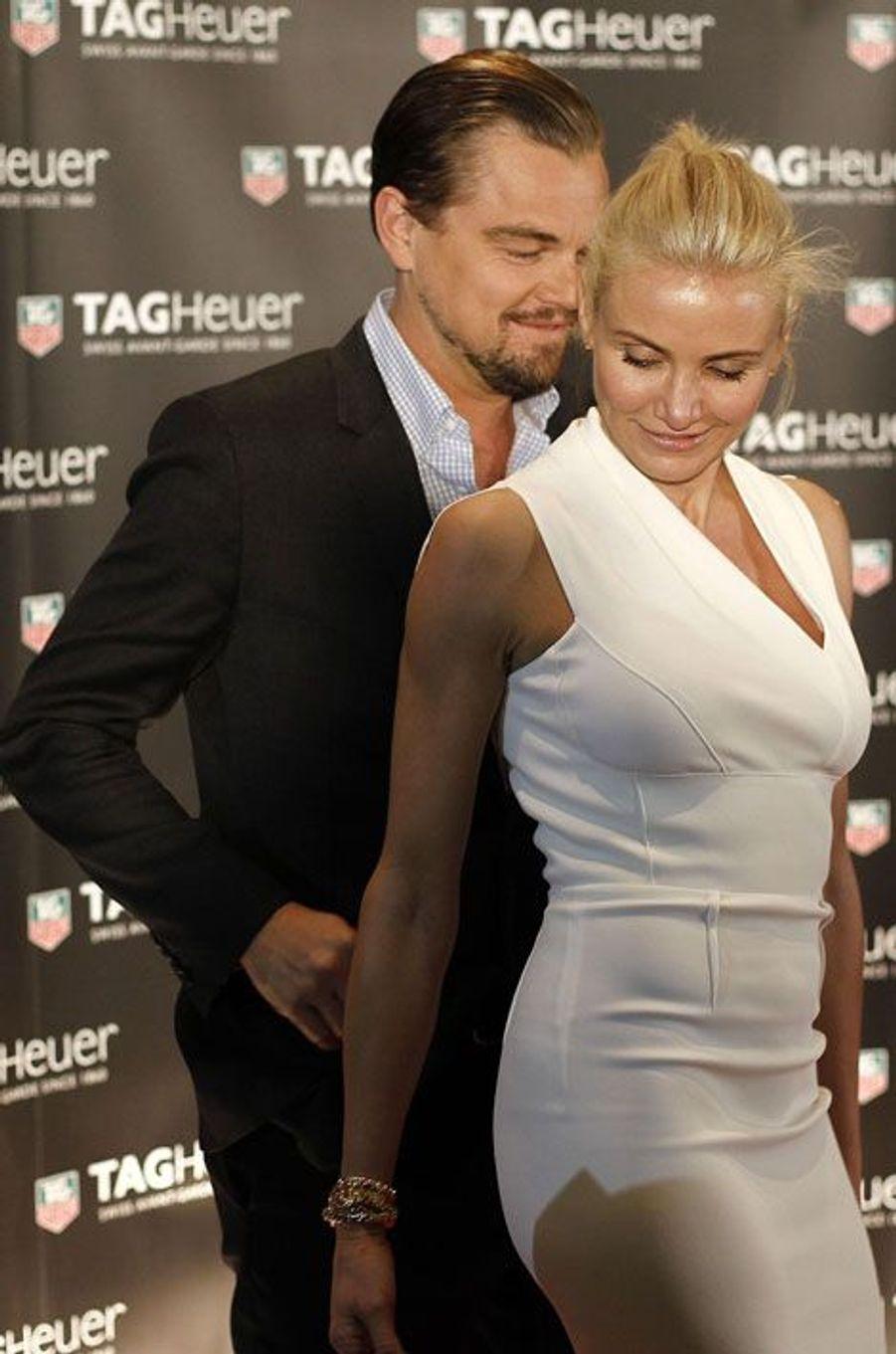 On la dit très proche de Leonardo DiCaprio en 2013