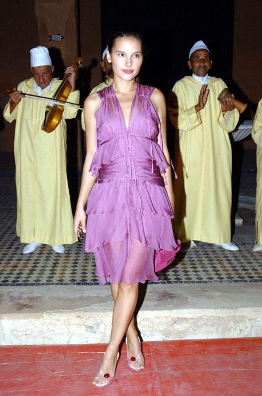 Estivale lors du festival de Marakech, en 2003
