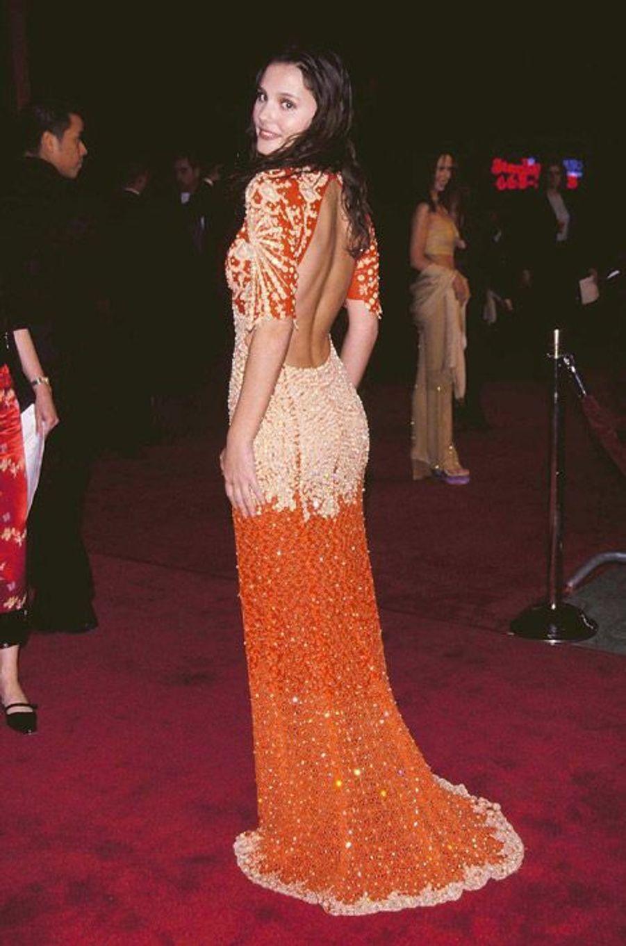 """Star hollywoodienne à Los Angeles pour la première de """"La Plage"""", le 2 février 2000"""