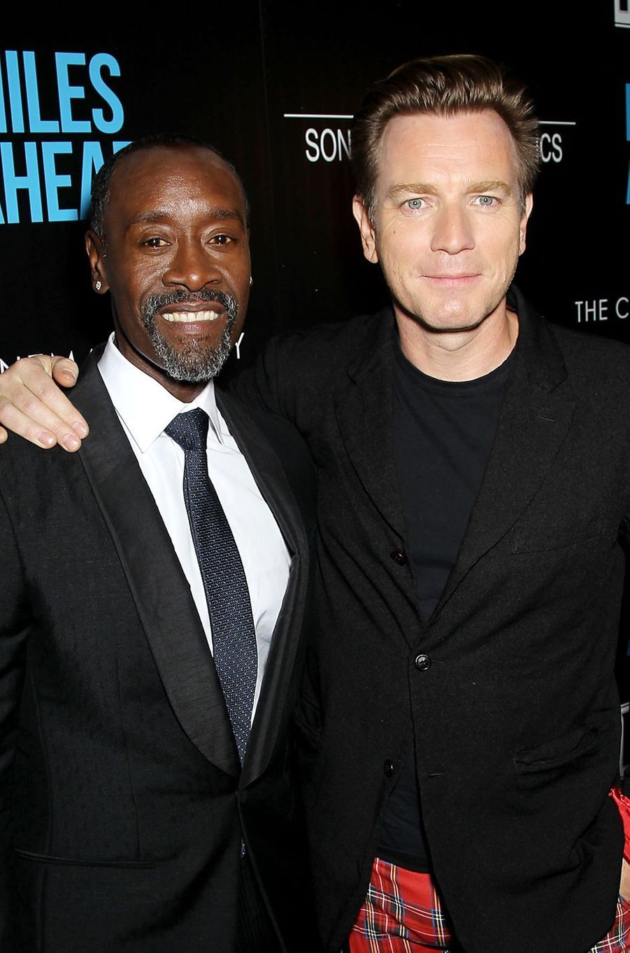 Don Cheadle et Ewan McGregor à New York le 23 mars 2016