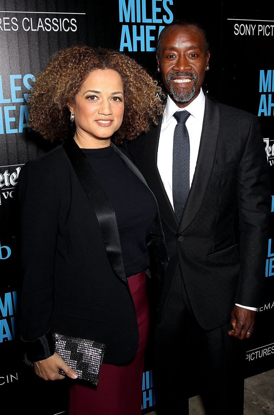 Don Cheadle et son épouse Bridgid à New York le 23 mars 2016