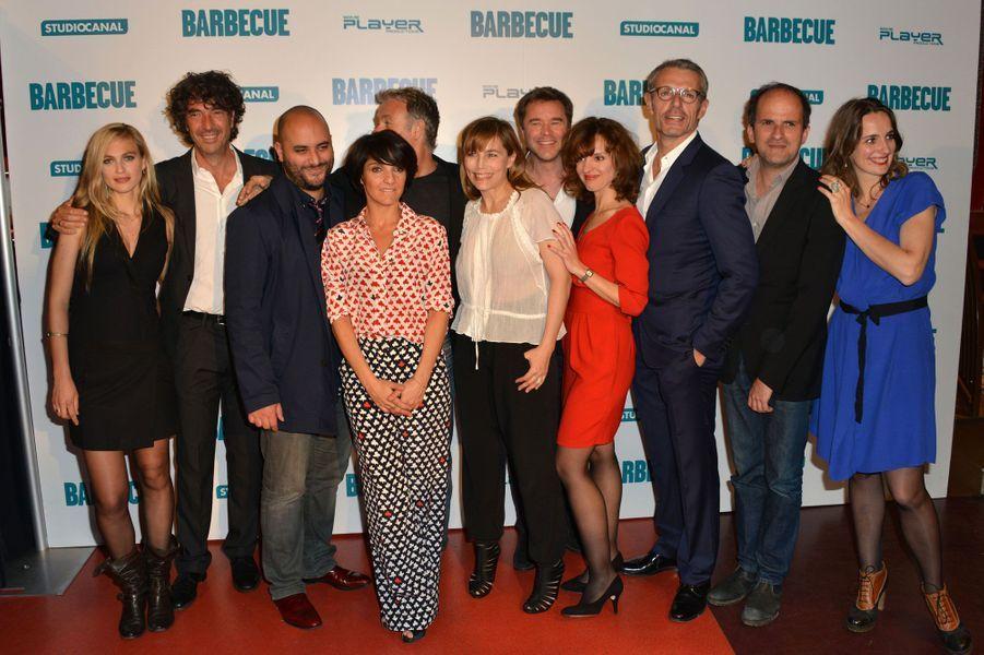 L'équipe du film «Barbecue»