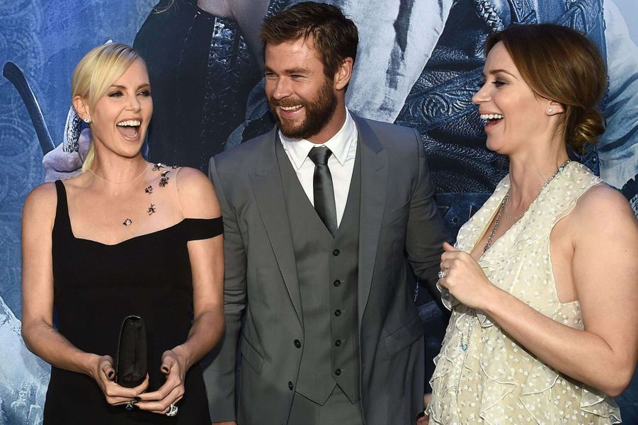 Charlize Theron, Chris Hemsworth, Emily Blunt