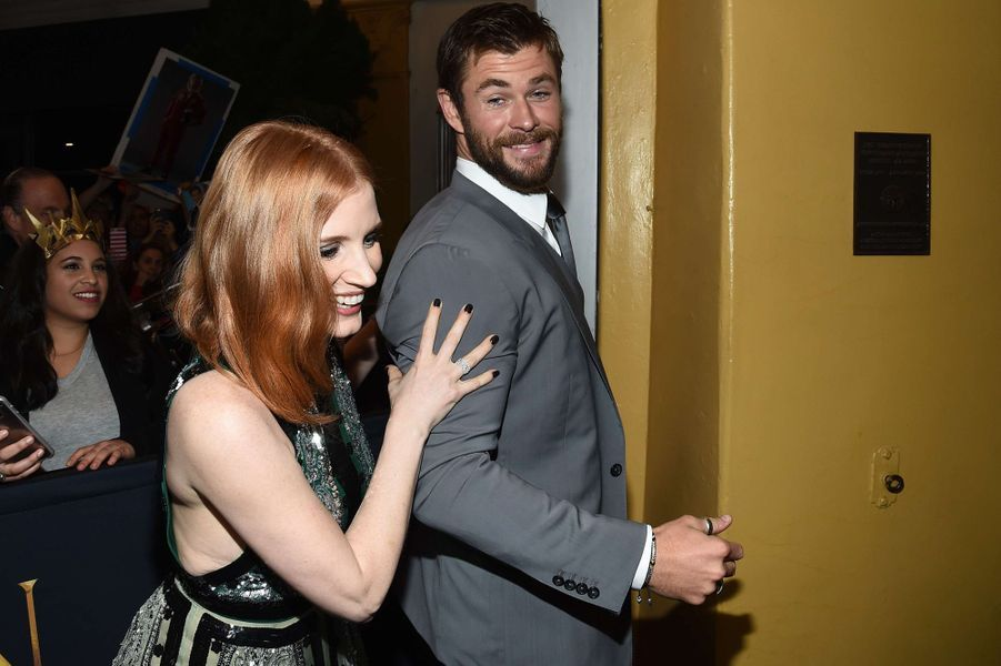 Jessica Chastain, Chris Hemsworth