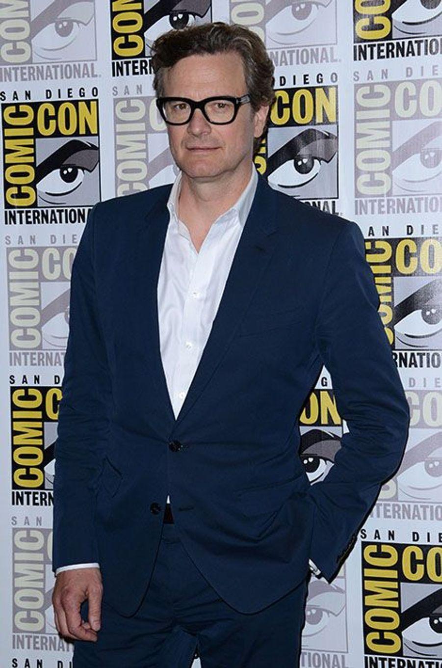 Colin Firth, le 25 juillet 2014.