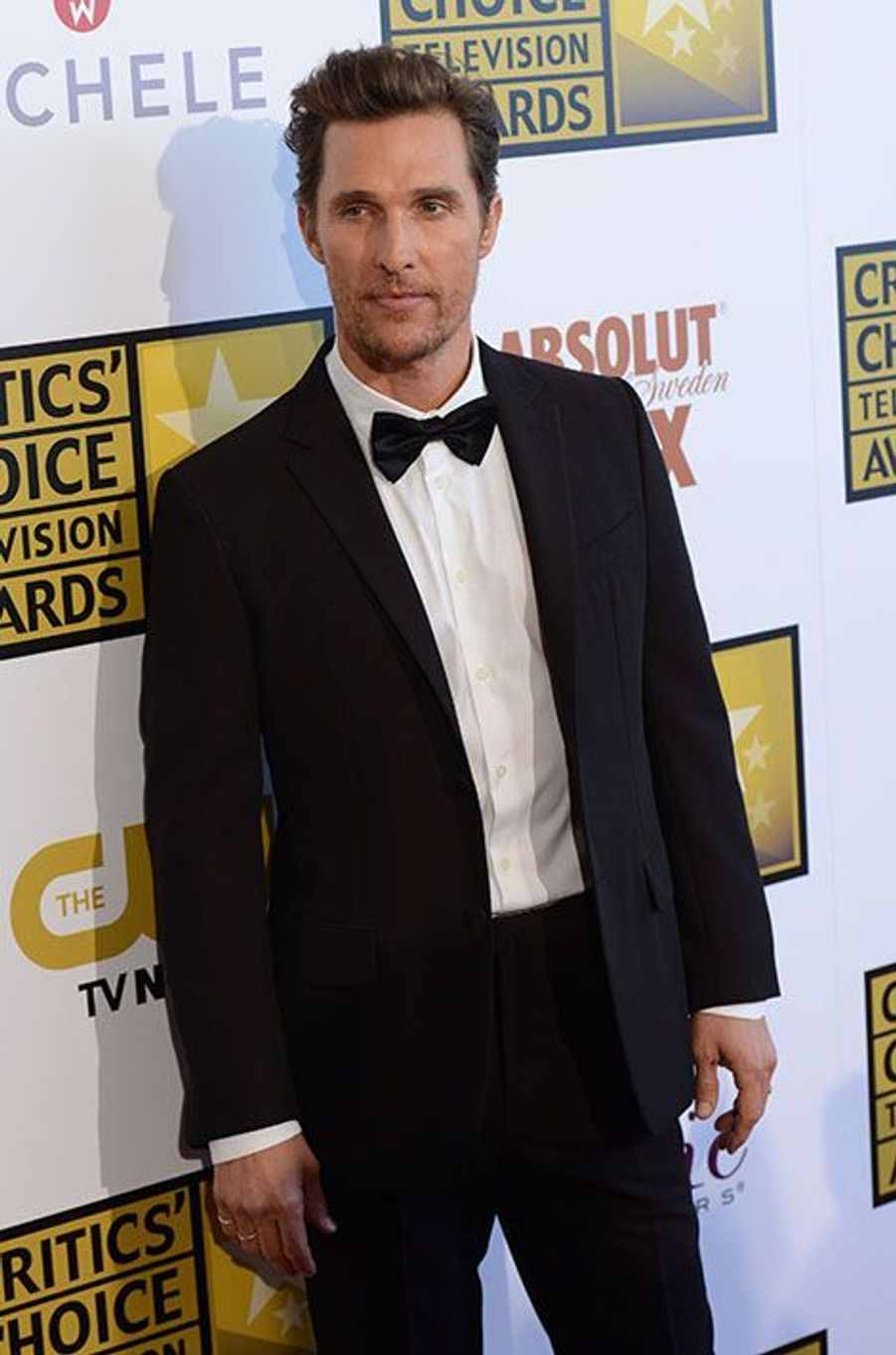 Matthew McConaughey, le 19 juin 2014, aux Critics Choice Awards.