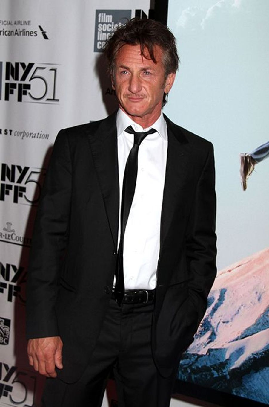 Sean Penn en septembre 2013 à New-York.