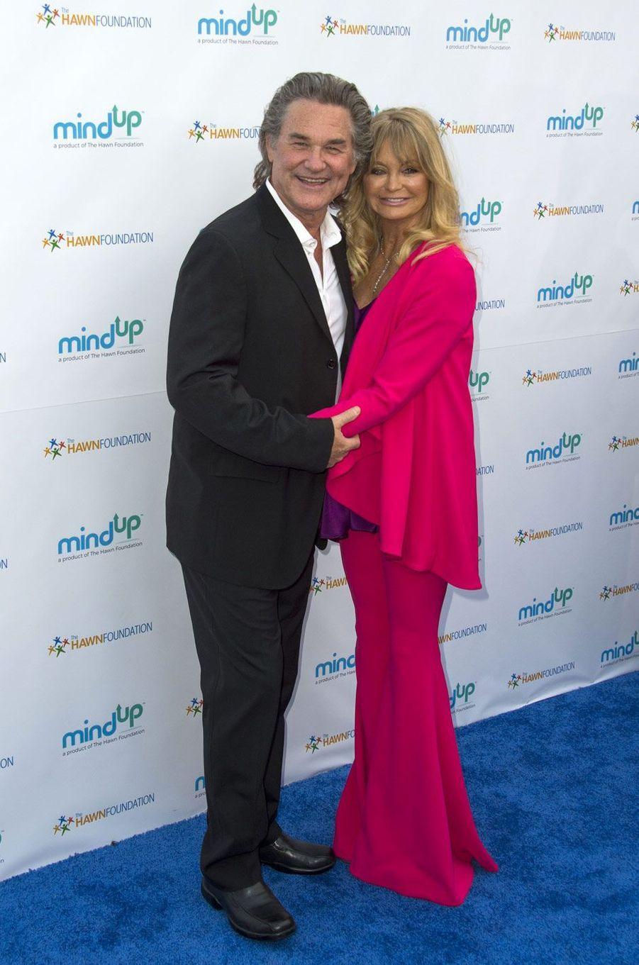 Kurt Russell et Goldie Hawn