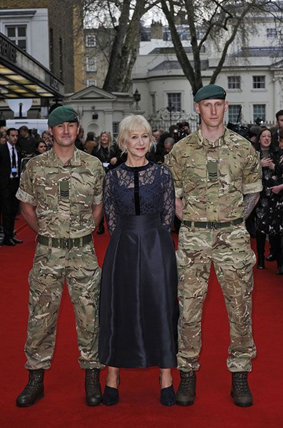 Helen Mirren à Londres, le 11 avril 2016