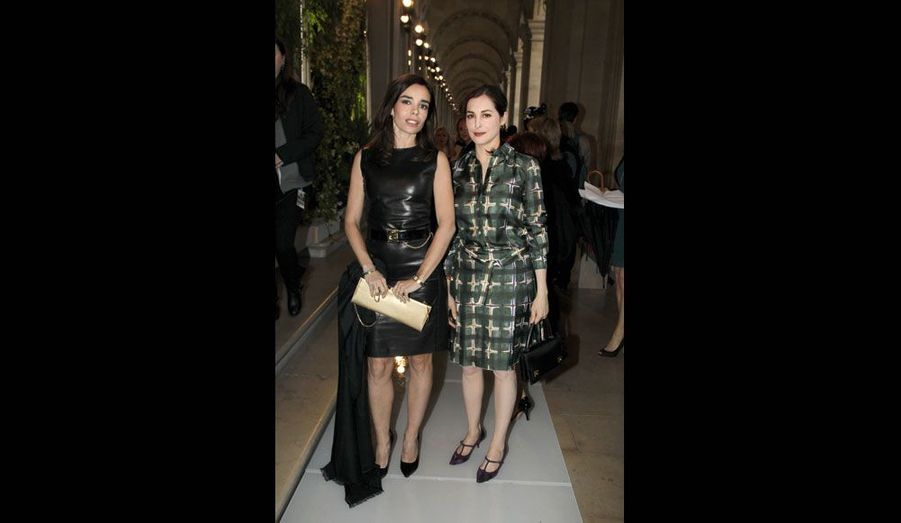 Elodie Bouchez et Amira Casar