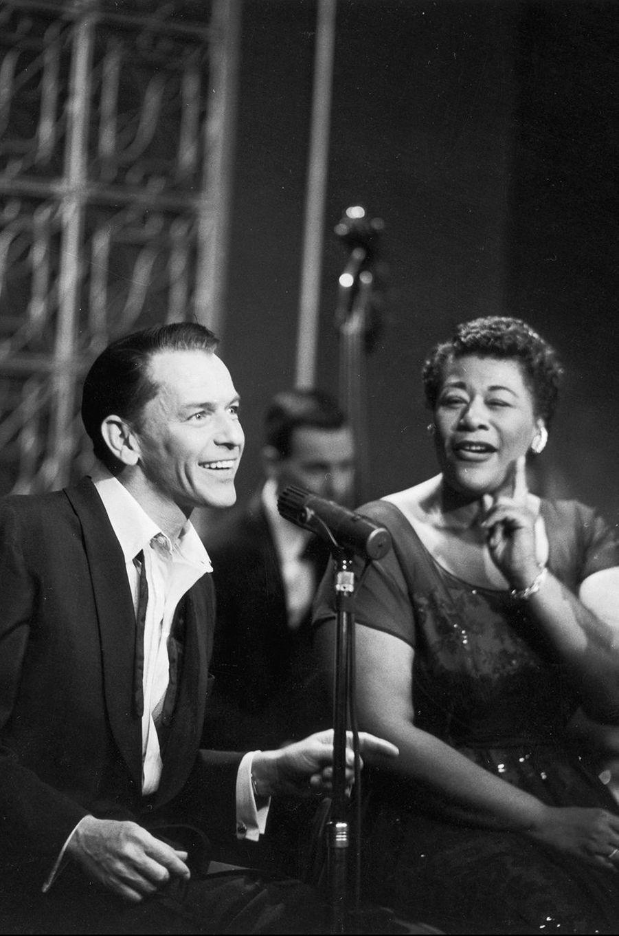 Duo au sommet entre Frank Sinatra et Ella Fitzgerald, 1955