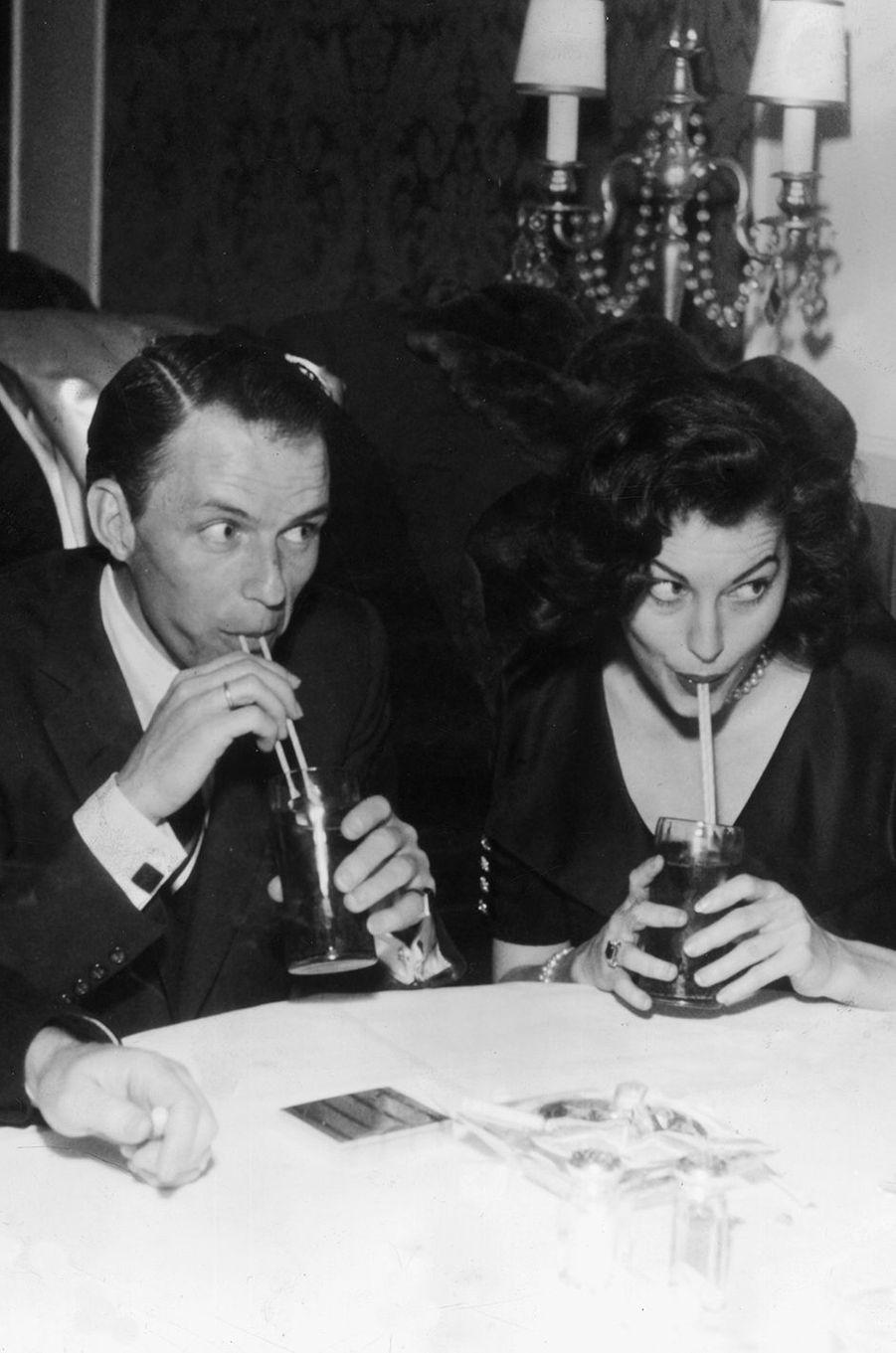 Frank avec son épouse Ava Gardner, 1951