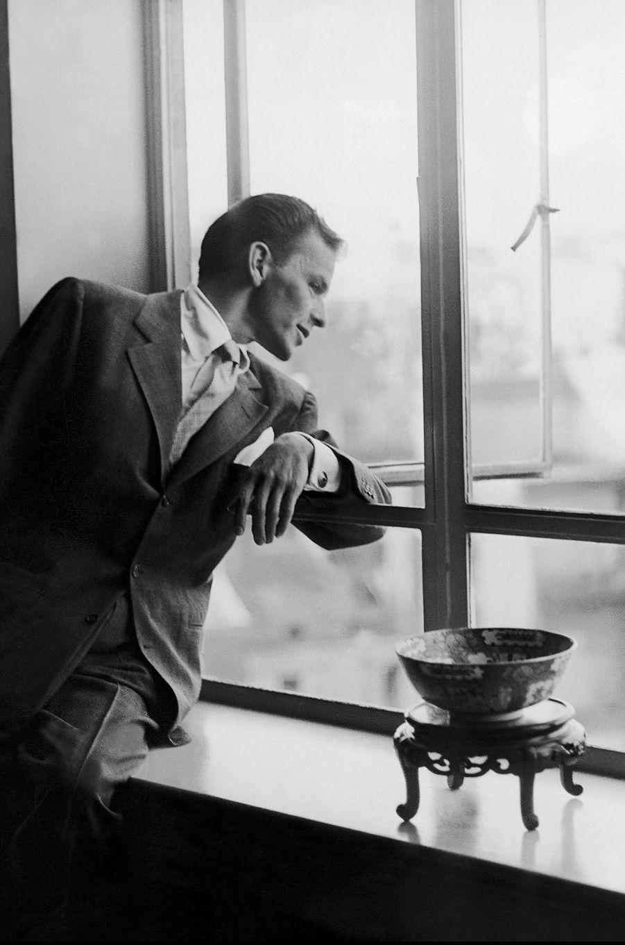 Frank Sinatra à Londres en 1950