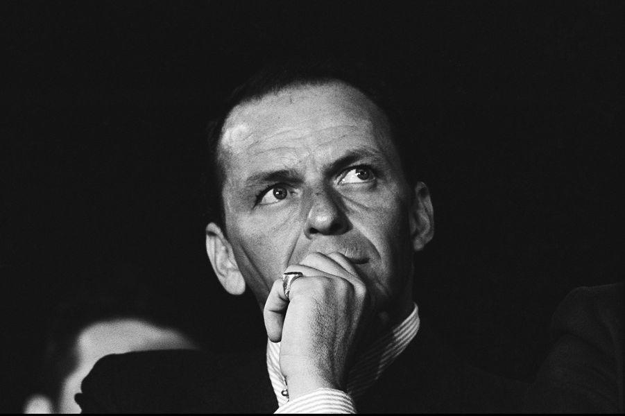 Frank Sinatra à San Francisco en 1960