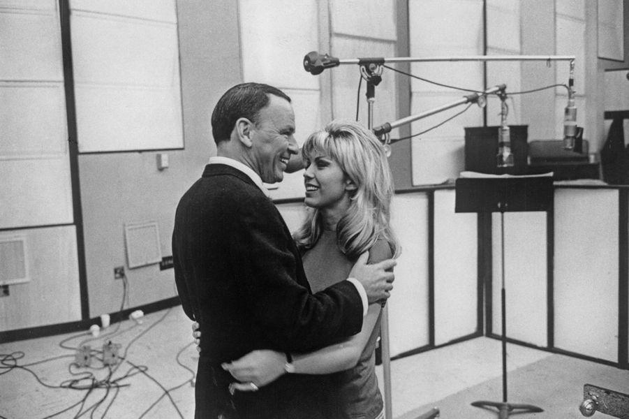 Frank Sinatra avec sa fille Nancy, 1967