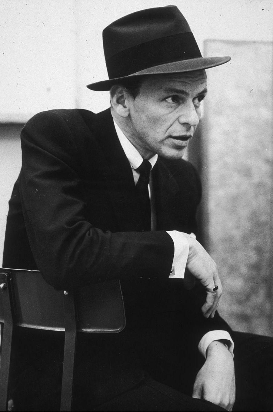 Frank Sinatra en 1955
