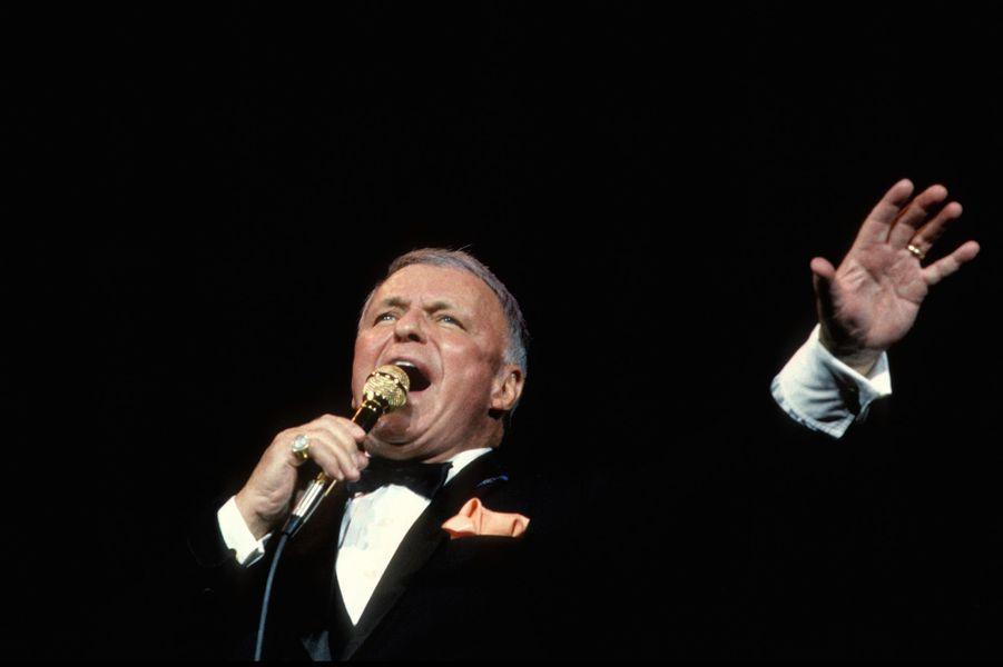 Frank Sinatra en concert à Chicago en 1986