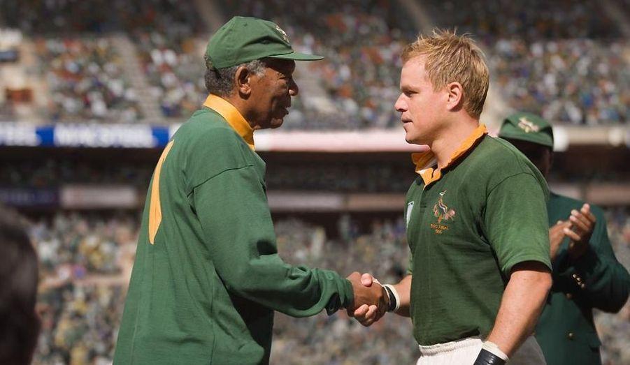 En 2009, il joue le rugbyman François Pienaar, capitaine des Springboks allié de Nelson Mandela (incarné par Morgan Freeman) dans une Afrique du Sud juste sortie de l'Apartheid.