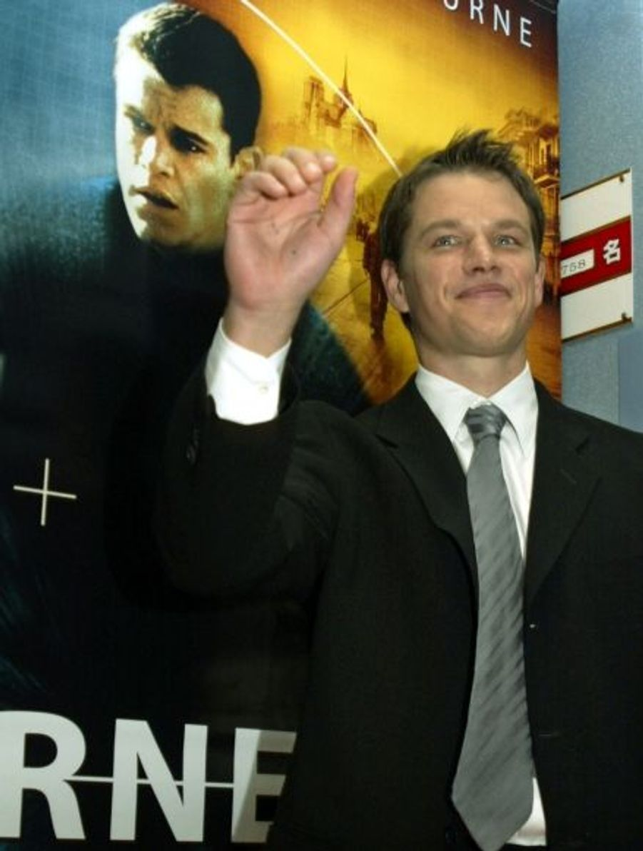 """Matt Damon a interprété Jason Bourne dans la trilogie des aventures de l'agent secret inventé par le romancier Robert Ludlum. Après """"La Mémoire dans la peau"""" (2002 - ici en photo), """"La Mort dans la peau"""" (2004) et """"La Vengeance dans la peau"""" (2007), un quatrième volet pourrait voir le jour, réalisé par Paul Greengrass (metteur en scène des deux derniers et de """"Green Zone"""" avec Matt Damon)."""