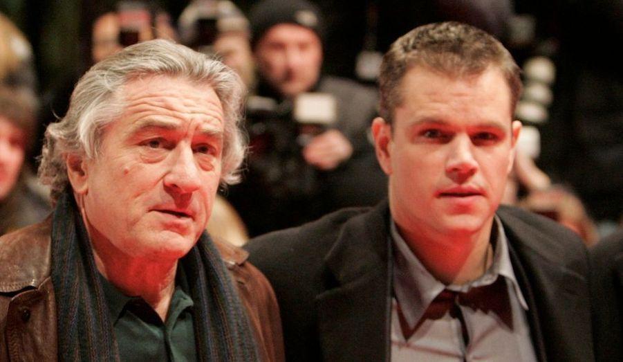 """Matt Damon a joué dans """"Raisons d'État"""" de Robert de Niro, en 2006."""