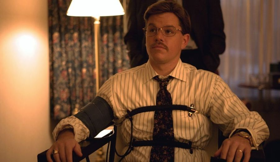 """En 2009, Matt Damon joue dans """"The Informant"""" de Steven Soderbergh. Les deux hommes ont travaillé sur six films ensemble."""